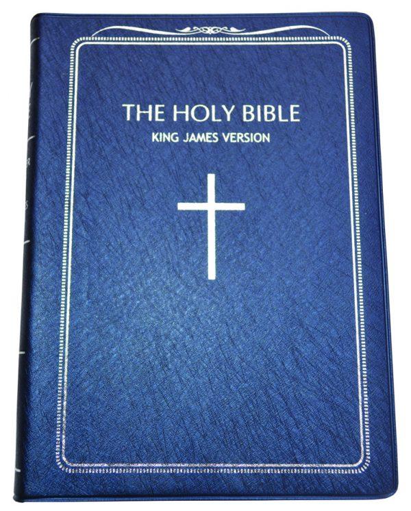 KJV English Bible AV 42 Black 9789966482983