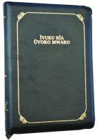 Kiembu Kimbeere Bible 067PZTI Black Leather Zip Thumb ISBN 9789966482181