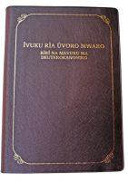 Kiembu Kimbeere Bible DC 067P Maroon Gold Edge ISBN 9789966482242