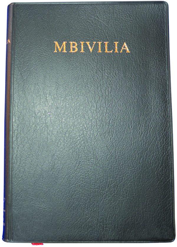 Kikamba Bible 052 Black Vinyl ISBN 9789966480675