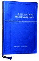 Swahili English Diglot Bible CL 062PPLA Blue ISBN9789966276520